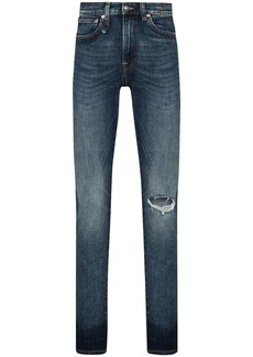 R13 Sid ripped-detail skinny jeans