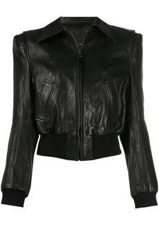 R13 stitched shearling jacket
