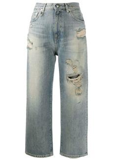R13 straight leg jeans