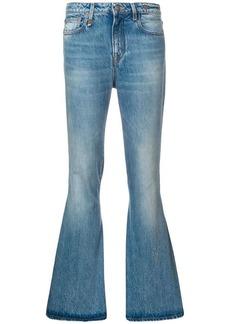 R13 straight-leg jeans