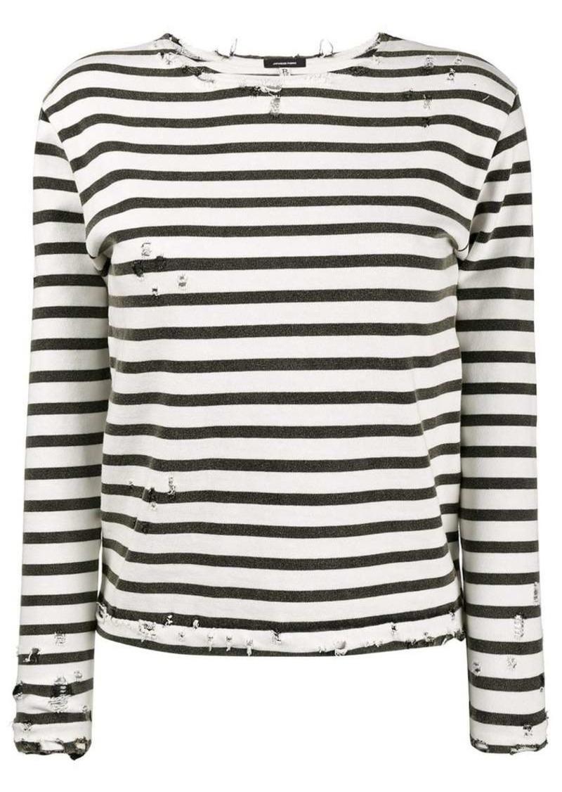 8e98d432b1 R13 Striped Long Sleeve T-Shirt | Tees