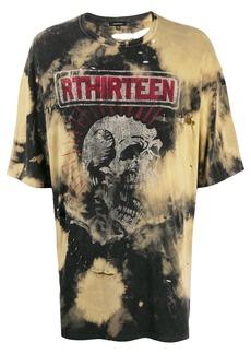 R13 tie-dye print T-shirt