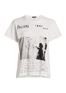 R13 U2 Miami Boy Graphic T-Shirt
