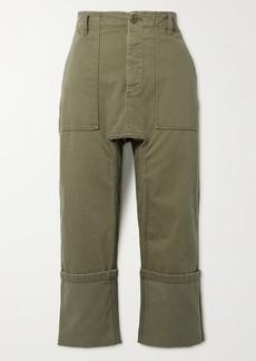 R13 Utility Cropped Cotton Pants