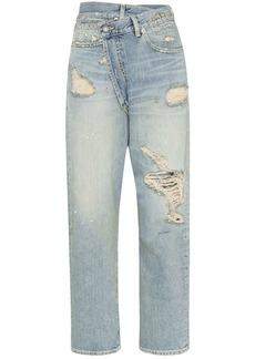 R13 Xovr distressed jeans
