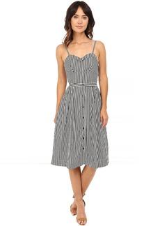 Rachel Antonoff Lindsay Tie Back Midi Dress