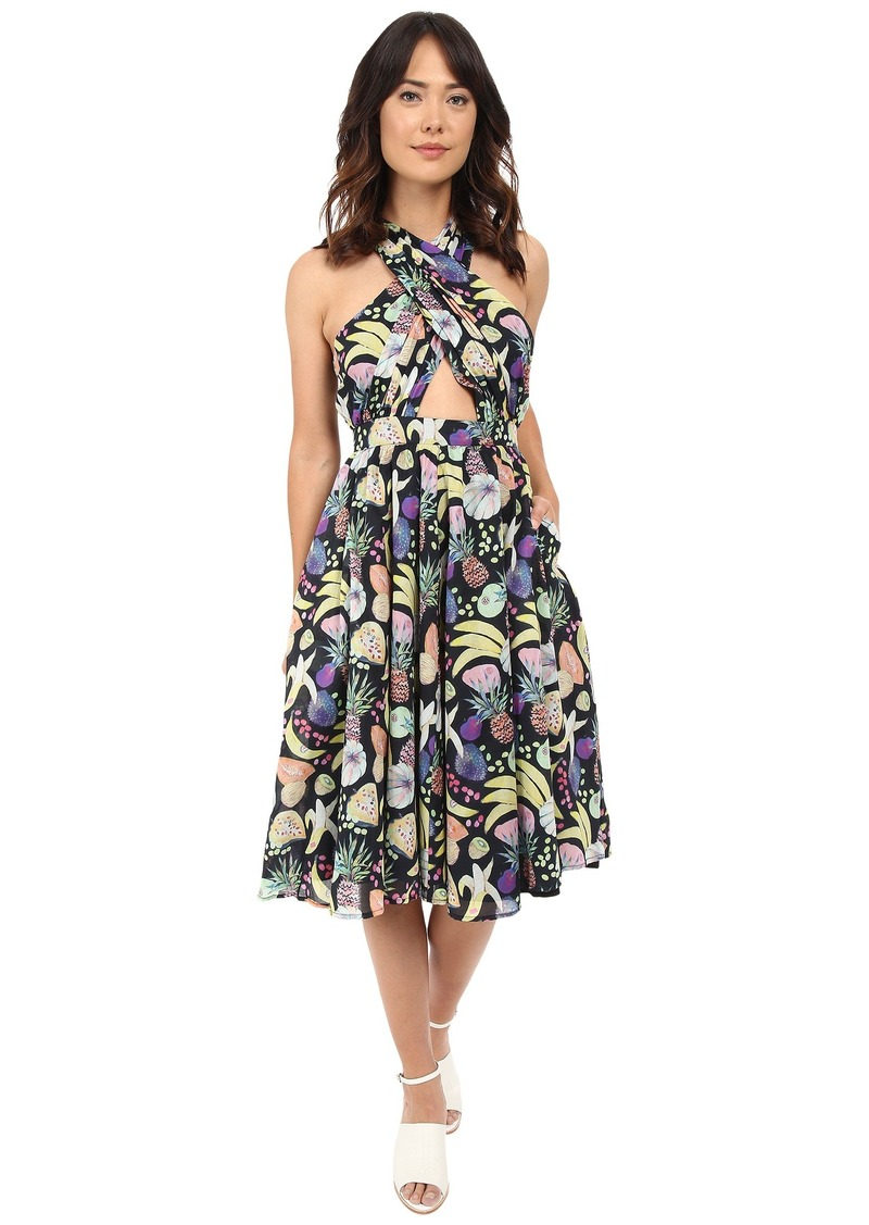 Samantha Wrap Halter Dress Rachel Antonoff