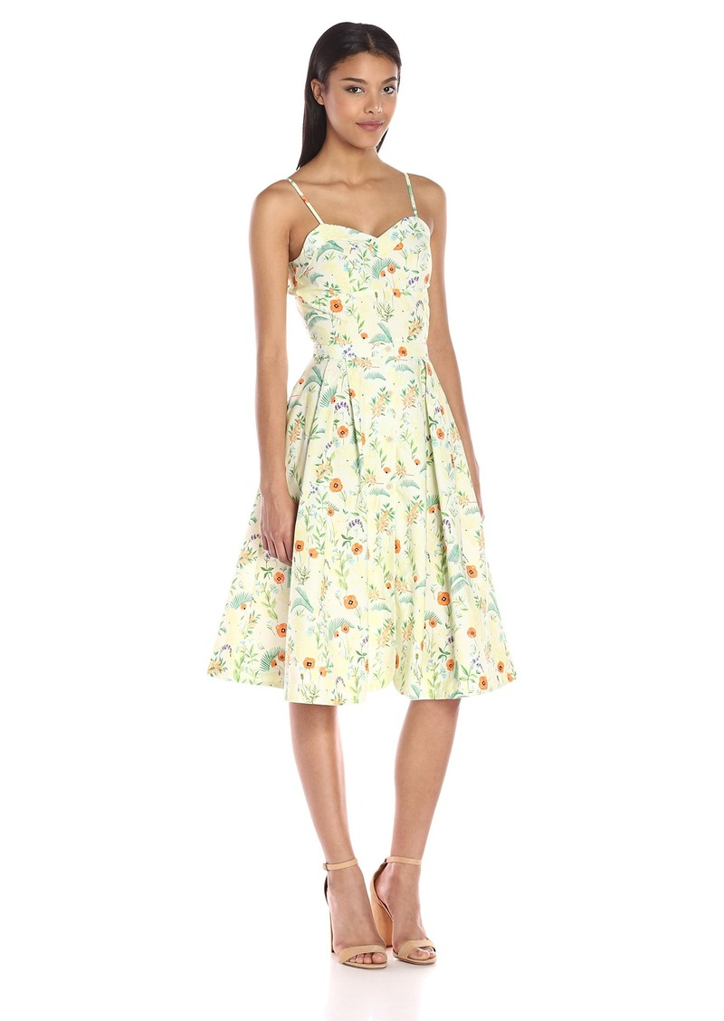 204246017b15 Rachel Antonoff Rachel Antonoff Women's Lindsay Tie Back Midi Dress ...