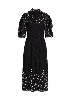 Rachel Comey Amplus Perla Cutwork Dress
