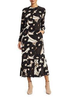 Rachel Comey Cessation Floral Midi Dress