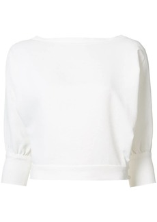 Rachel Comey cropped sleeves blouse