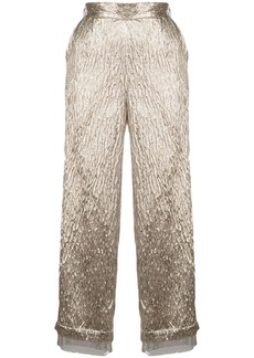Rachel Comey cropped textured trousers