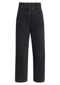 Rachel Comey Elio Cropped Straight-Leg Jeans