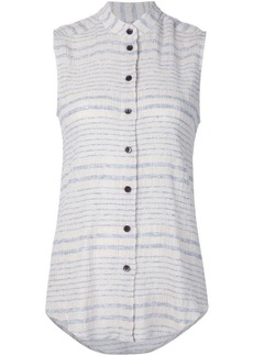 Rachel Comey faded stripe sleeveless shirt