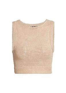 Rachel Comey Lois Crochet Tank Top