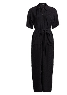 Rachel Comey Maxfield Abstract Print Flightsuit