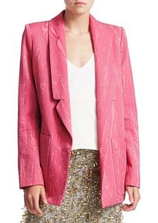 Rachel Comey Moire Jacquard Lovely Wool Blazer