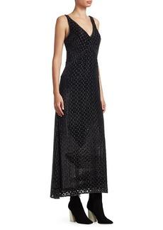 Rachel Comey Nirvana Burnout V-Neck Shift Dress