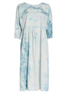 Rachel Comey Oust Printed Poplin Shift Dress