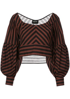 Rachel Comey oversized sleeve cropped top