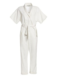 Rachel Comey Pitch Utilitarian Twill Jumpsuit