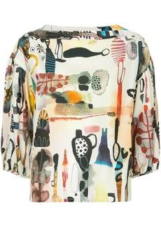 Rachel Comey printed top