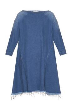Rachel Comey Ballston frayed-hem denim dress