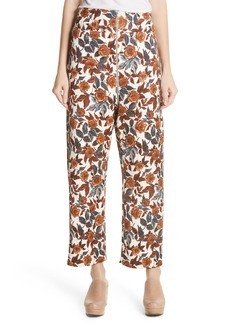 Rachel Comey Barrie Floral Print Pants