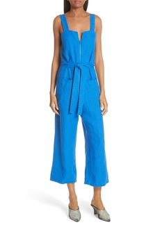 Rachel Comey Bend Linen Jumpsuit