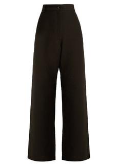 Rachel Comey Bishop wide-leg cotton-blend trousers
