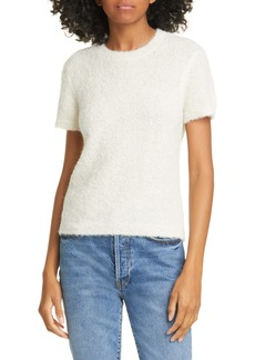 Rachel Comey Bo Alpaca Blend Short Sleeve Sweater