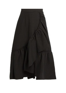 Rachel Comey Bonnie ruffled cotton-blend skirt