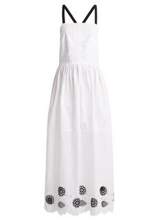 Rachel Comey Borough broderie-anglaise cotton-blend dress