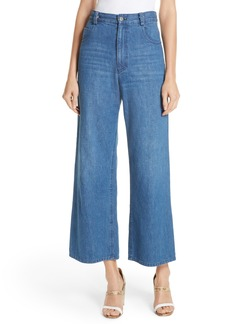 Rachel Comey Clean Legion Crop Wide Leg Jeans