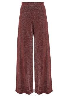 Rachel Comey Cleric wide-leg lamé trousers