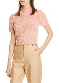 Rachel Comey Crop Short Sleeve Sweater (Nordstrom Exclusive)