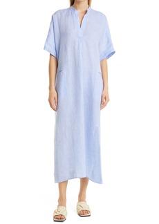 Rachel Comey Culver Linen Short Sleeve Shift Dress