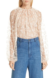 Rachel Comey Decadent Lace Top