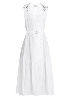 Rachel Comey Donner cotton-poplin button-down dress