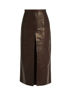 Rachel Comey Elixer leather midi skirt