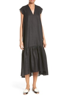 Rachel Comey Ethridge Linen Midi Dress