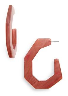 Rachel Comey Factor Hoop Earrings