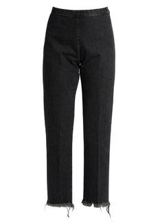 Rachel Comey Fletcher high-rise slim-leg cropped jeans
