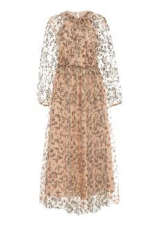 Rachel Comey Fly Embellished Tulle Maxi Dress