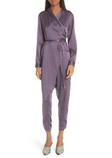 Rachel Comey Forward Silk Jumpsuit