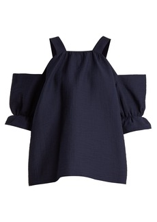 Rachel Comey Foster off-the-shoulder raw-edge top