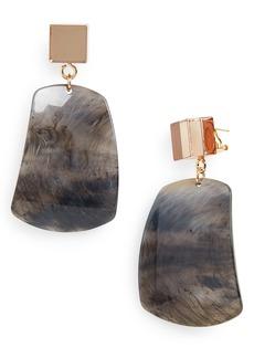 Rachel Comey Furrow Drop Earrings