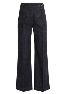 Rachel Comey Harlan high-rise wide-leg cotton trousers
