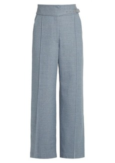 Rachel Comey Harlan high-rise wide-leg wool-twill trousers