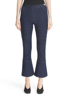 Rachel Comey High Rise Crop Flare Leg Jeans